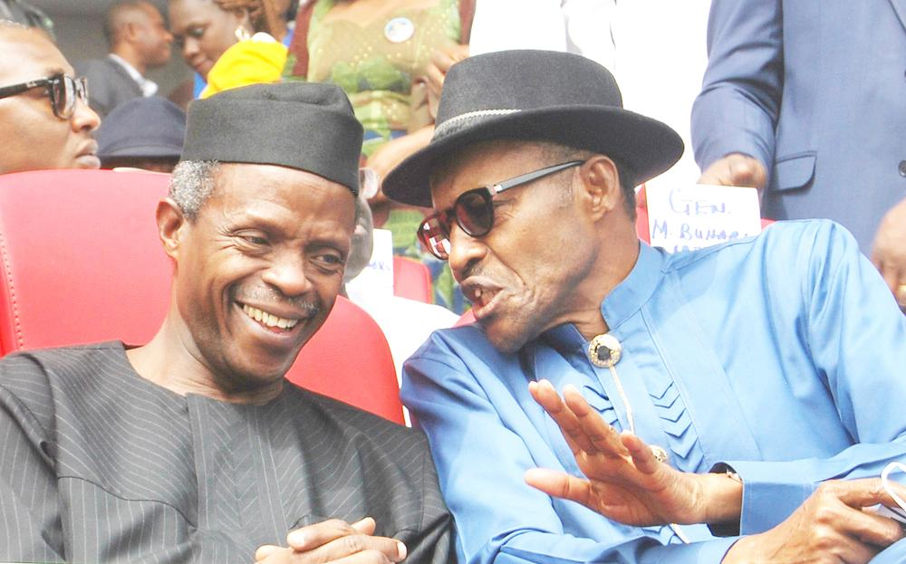 Image result for Buhari does not care if state is governed by PDP or APC – Osinbajo