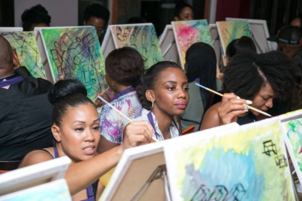 Paint the Night African Launch - Bellanaija - January2015055