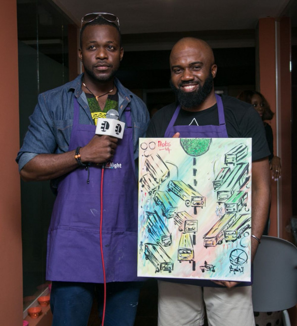 Paint the Night African Launch - Bellanaija - January2015073