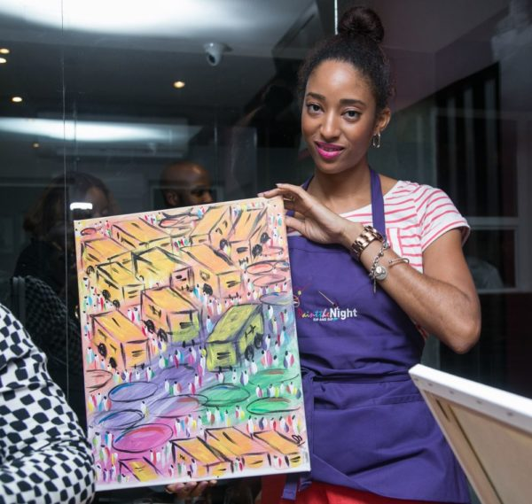 Paint the Night African Launch - Bellanaija - January2015075