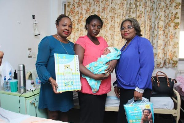 Pampers First Baby of the Year - BellaNaija - January2014