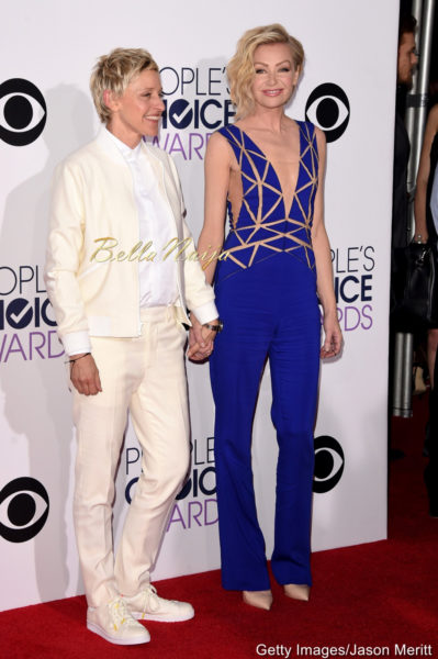 Ellen DeGeneres & Portia de Rossi in Zuhair Murad