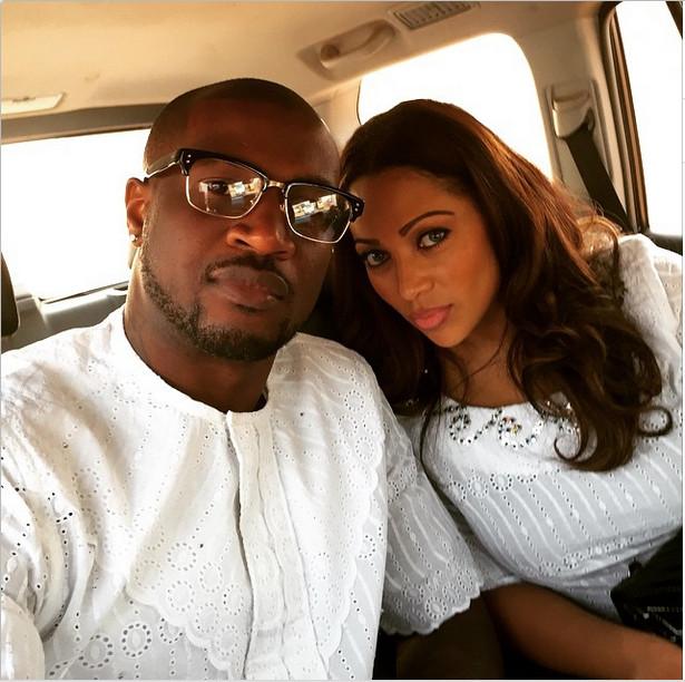Peter Okoye & Lola Okoye