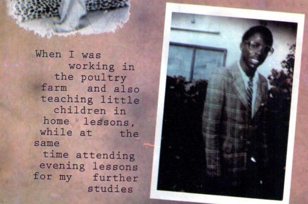 T.B. Joshua In His 20s