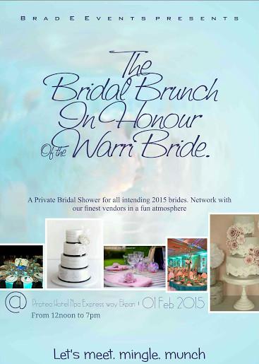 The Bridal Brunch - BellaNaija - January2015