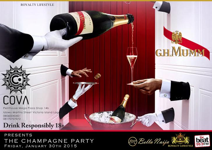 The Champagne Party by COVA and GHMUMM - BellaNaija - January2015