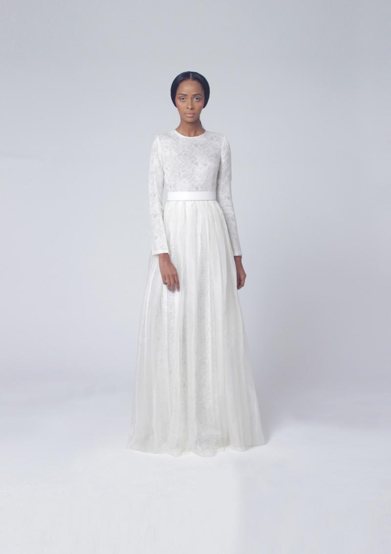 Tsemaye Binitie Atelier Bridal 2015 Capsule Collection | BellaNaija 01.LOOK1