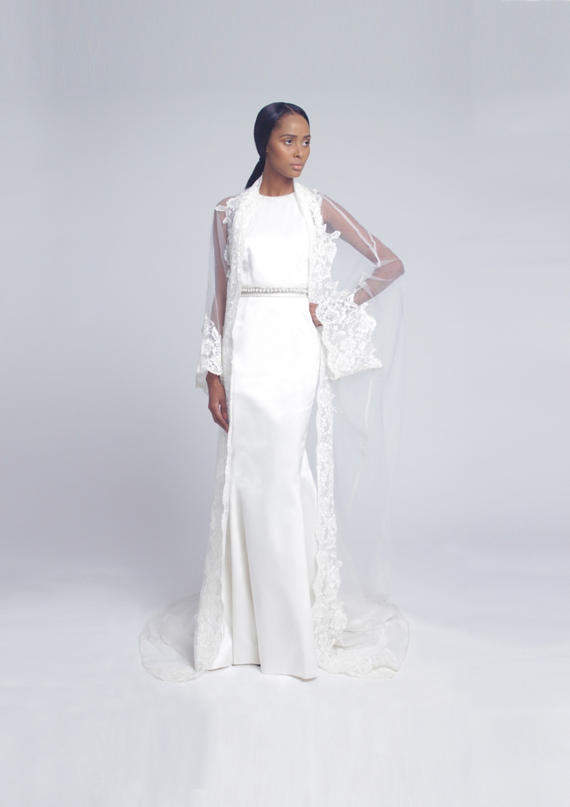 Tsemaye Binitie Atelier Bridal 2015 Capsule Collection | BellaNaija 03.LOOK2