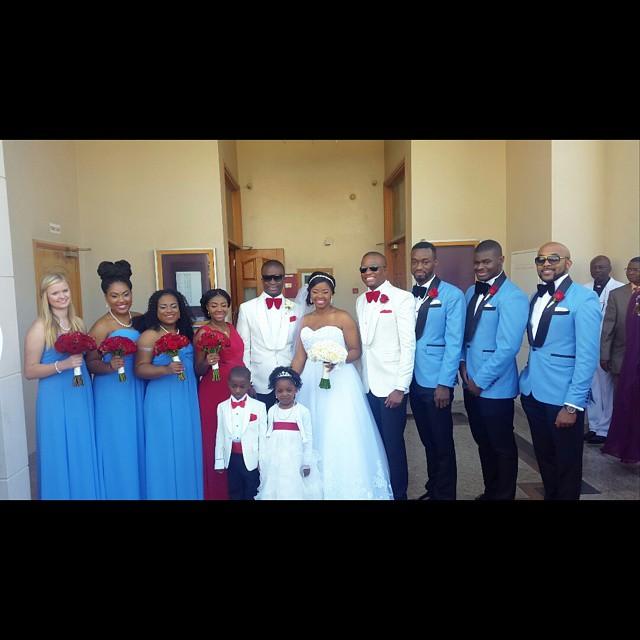 Tunde Demuren, Banky W, Michael Demuren Wedding
