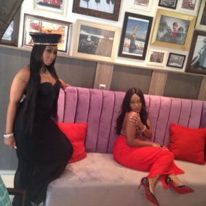 Victoria Kimani & Emma Nyra BTS The Celebrity Shoot - BellaNaija - January2015
