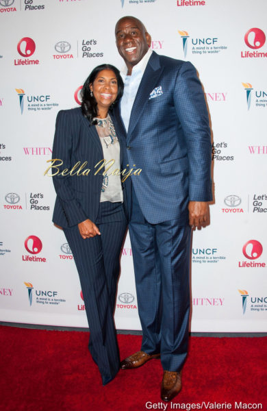 Magic Johnson & Earlitha Kelly