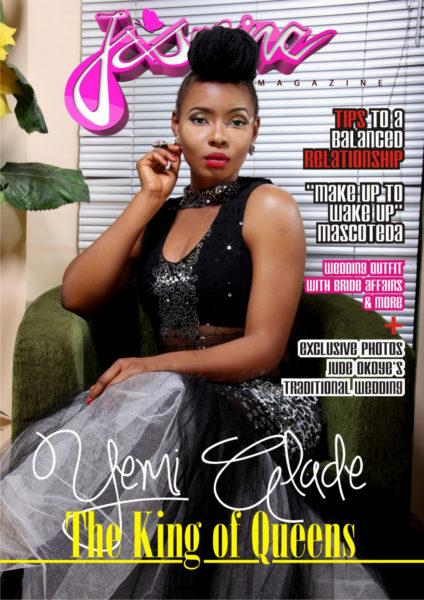Yemi Alade Jasmine Magazine Cover