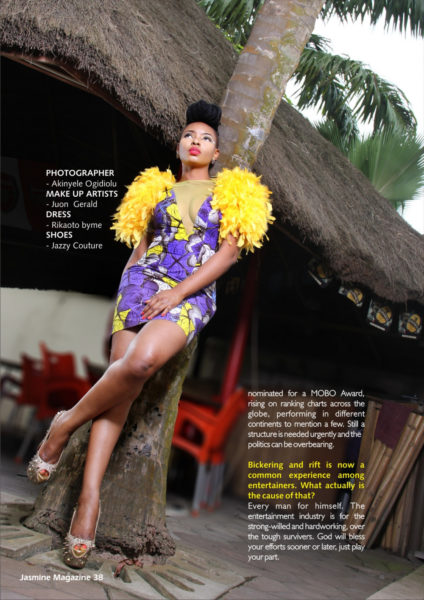 Yemi Alade Jasmine Magazine Feature