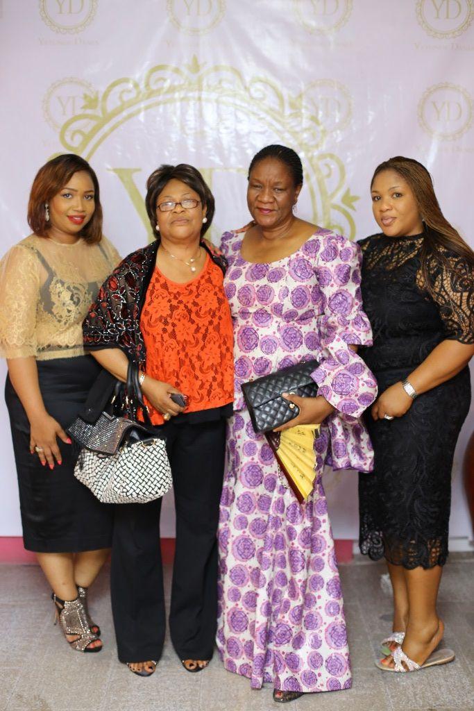 Yetunde, Mrs Adebowale (Mom), Mrs Cole & Mrs Dotun Ajiboye (Sisters)