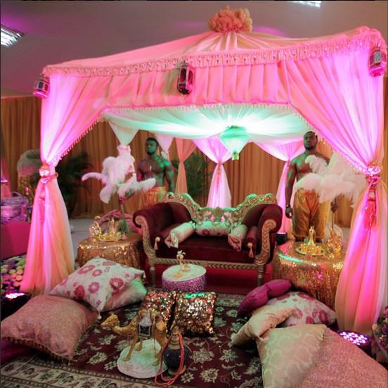 indian themed nigerian wedding