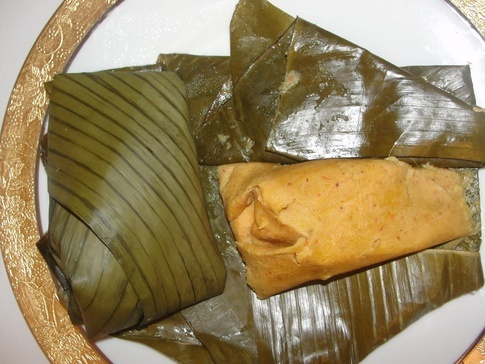 how to cook moi moi with leaves