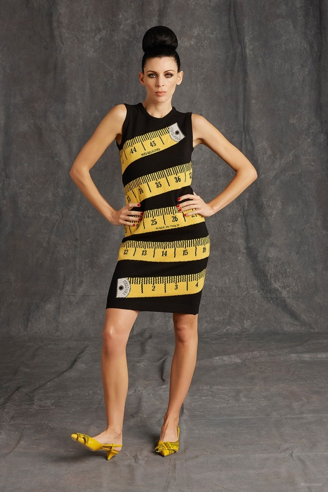 Moschino Fall Winter 2014 15 Women S Collection: Imitation Or Inspiration? Moschino Releases A Pre-Fall