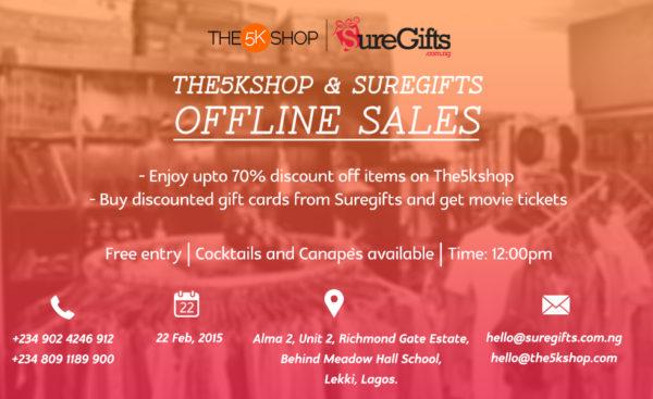 1 offline sales