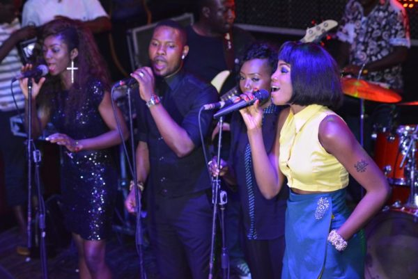 16 BACKING VOCALISTS ON POINT AT ONE NITE LIVE & UNPLUGGED WITH SEYI SHAY