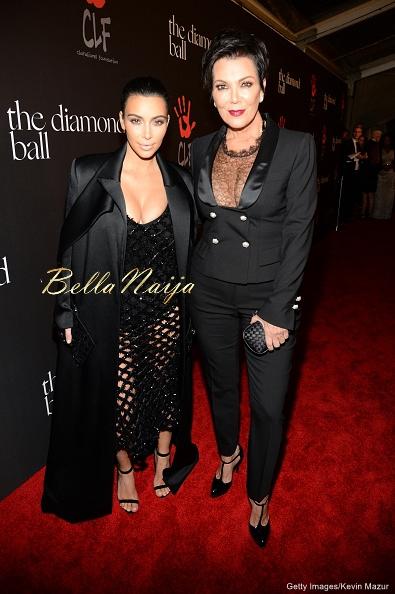 Kim Kardashian-West & Kris Jenner