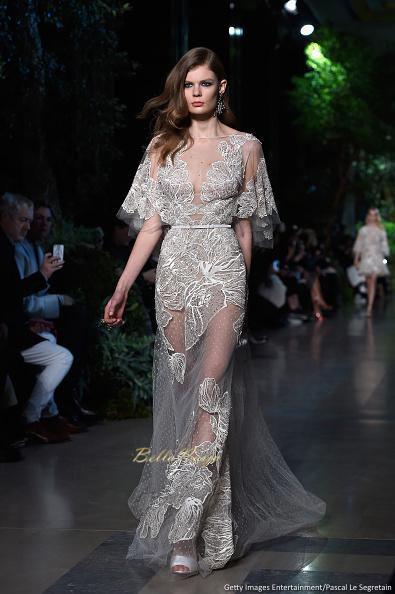 Elie Saab : Runway - Paris Fashion Week - Haute Couture S/S 2015