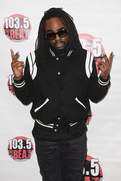 Wale Visits Miami Radio Station