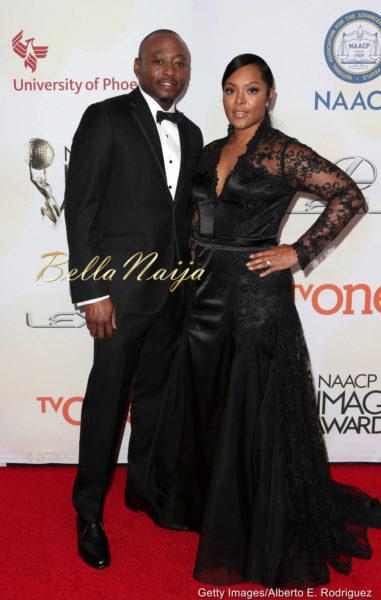 Omar Epps & Keisha Spivey