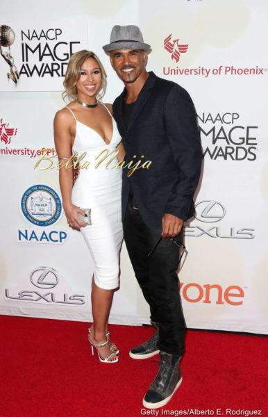 Shemar Moore & Shawna Gordon