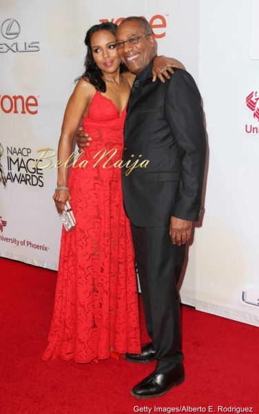 Kerry Washington & Joe Morton