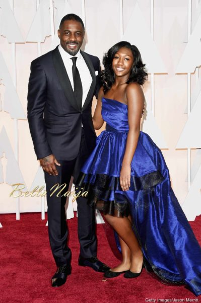 Idris Elba & Daughter, Isan Elba
