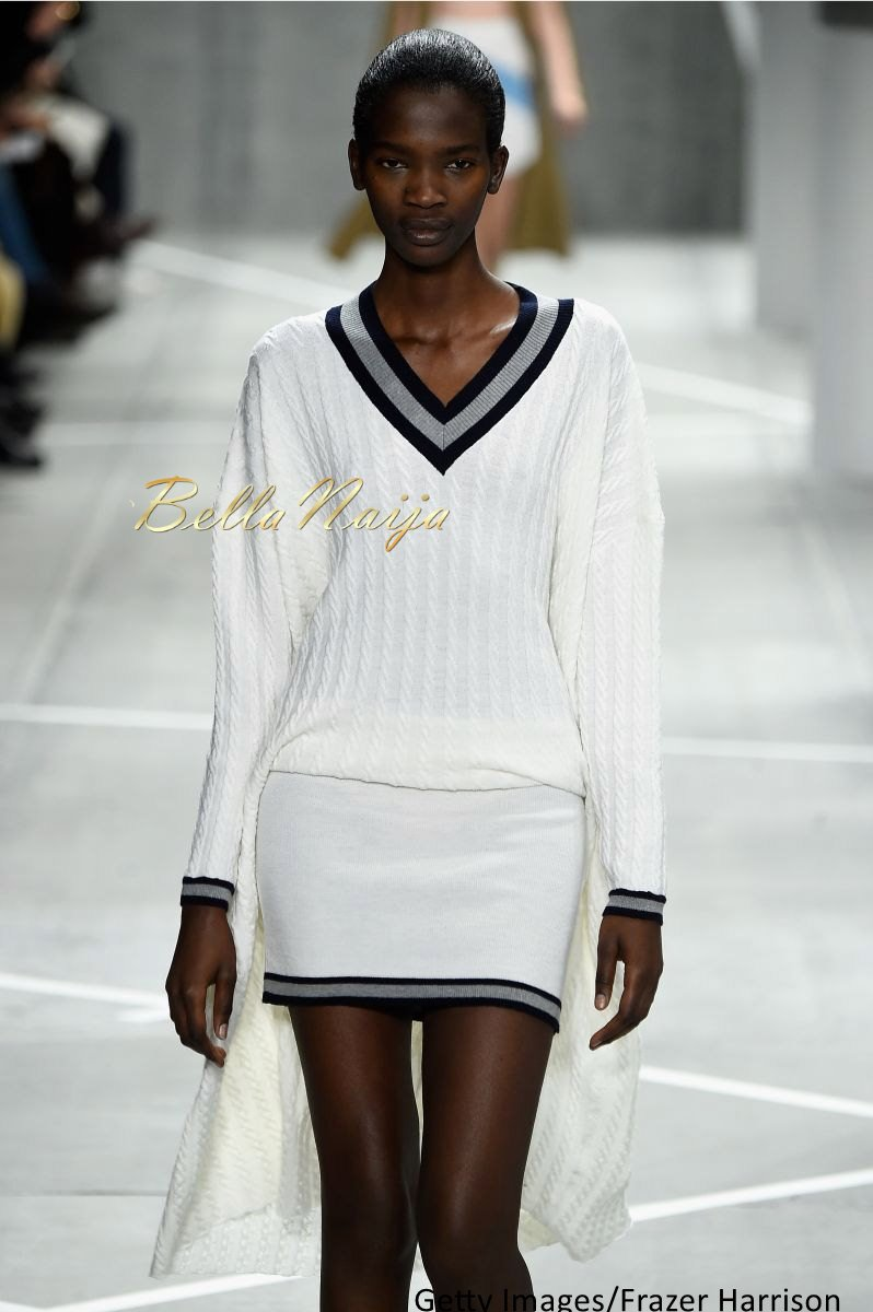 Aamito Stacie Lagum at New York Fashion Week 2015 - Bellanaija - February2015003