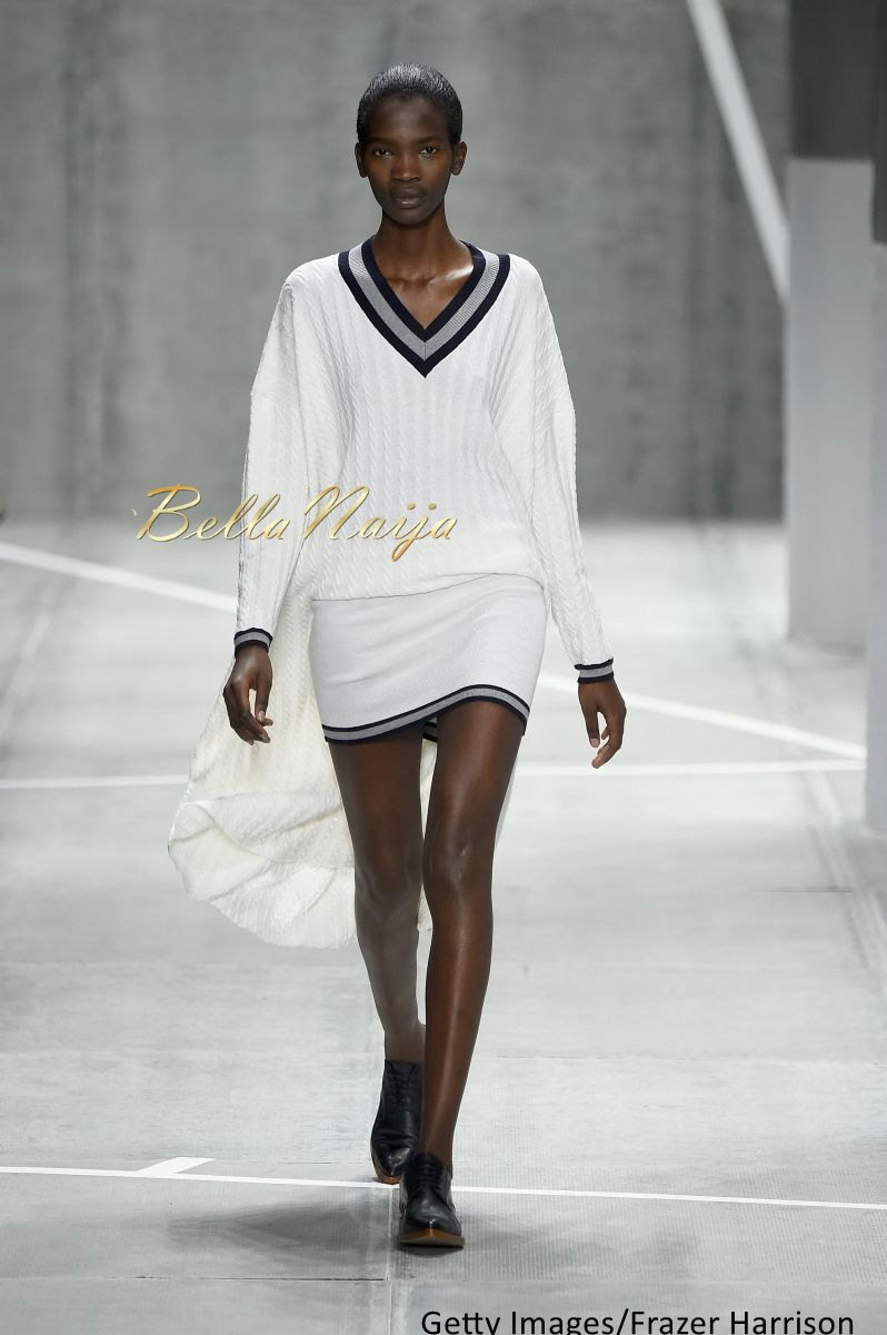 Aamito Stacie Lagum at New York Fashion Week 2015 - Bellanaija - February2015004