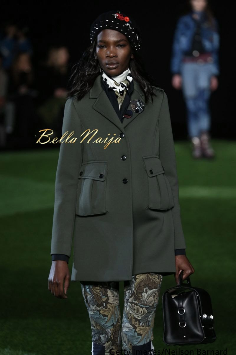 Aamito Stacie Lagum at New York Fashion Week 2015 - Bellanaija - February2015005