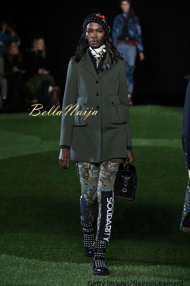 Aamito Stacie Lagum at New York Fashion Week 2015 - Bellanaija - February2015006