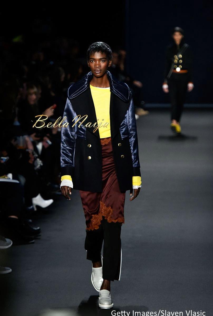 Aamito Stacie Lagum at New York Fashion Week 2015 - Bellanaija - February2015007
