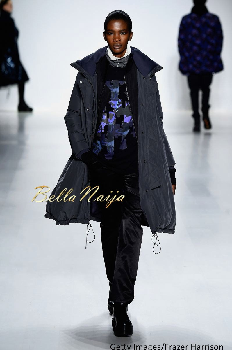 Aamito Stacie Lagum at New York Fashion Week 2015 - Bellanaija - February2015010