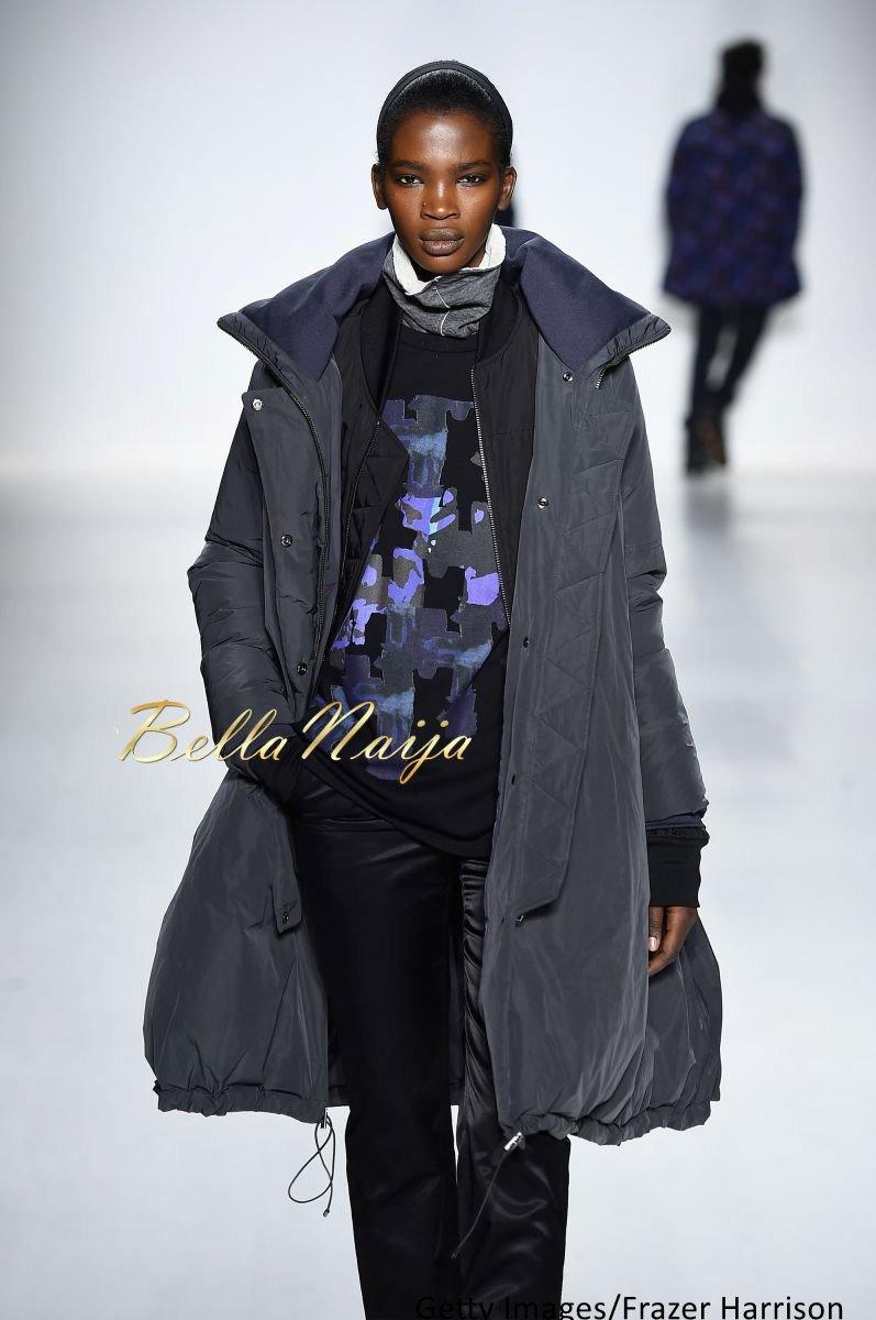 Aamito Stacie Lagum at New York Fashion Week 2015 - Bellanaija - February2015011