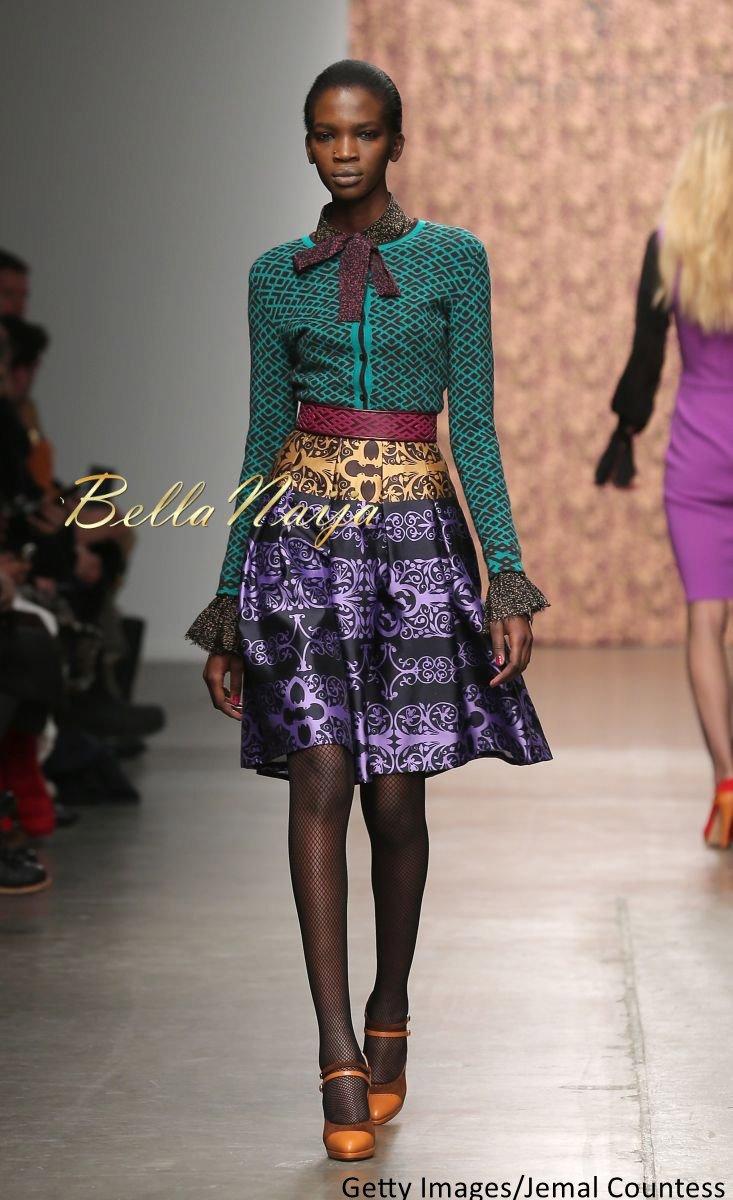 Aamito Stacie Lagum at New York Fashion Week 2015 - Bellanaija - February2015012