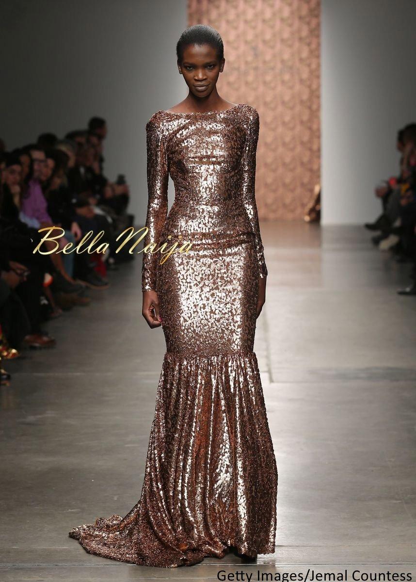 Aamito Stacie Lagum at New York Fashion Week 2015 - Bellanaija - February2015013