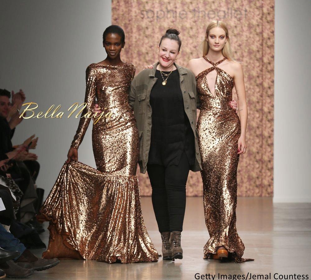 Aamito Stacie Lagum at New York Fashion Week 2015 - Bellanaija - February2015014