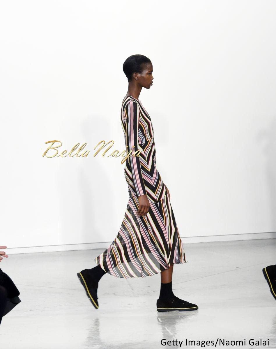 Aamito Stacie Lagum at New York Fashion Week 2015 - Bellanaija - February2015015