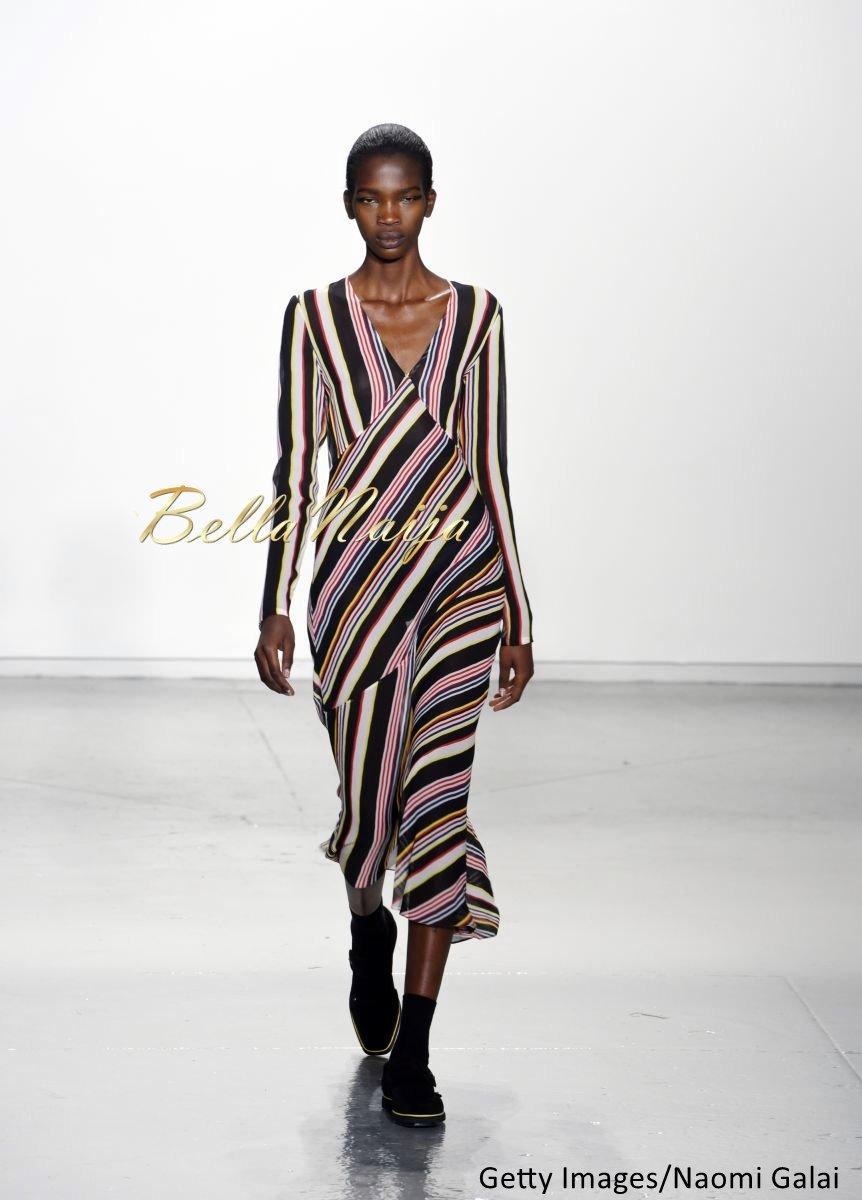 Aamito Stacie Lagum at New York Fashion Week 2015 - Bellanaija - February2015016