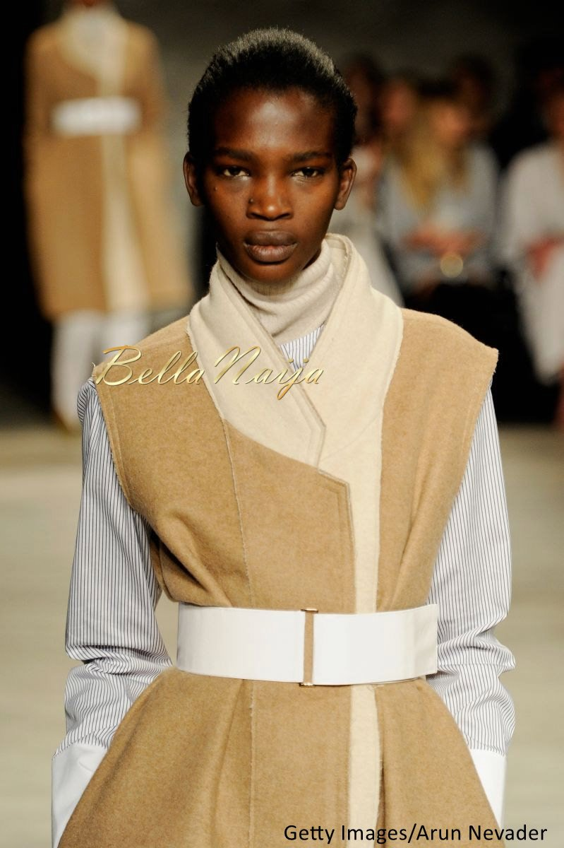 Aamito Stacie Lagum at New York Fashion Week 2015 - Bellanaija - February2015018