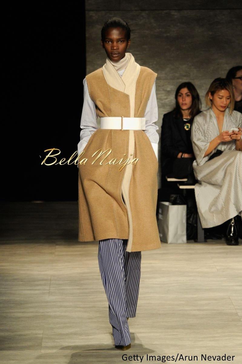 Aamito Stacie Lagum at New York Fashion Week 2015 - Bellanaija - February2015019