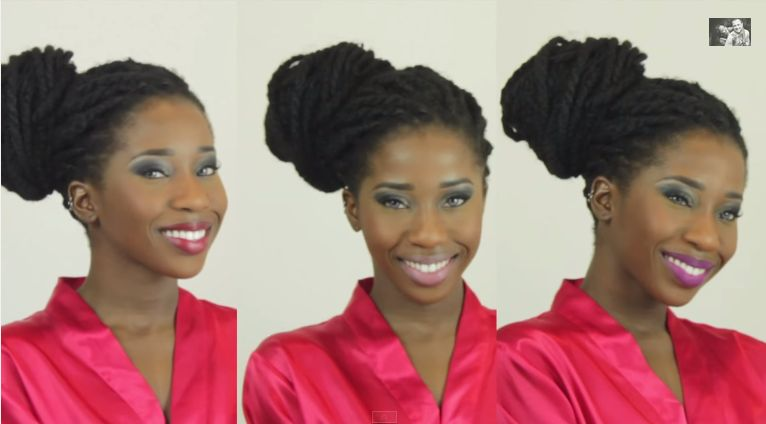 AdannaDavid Valentine's Day Makeup Tutorial - BellaNaija - February 2015