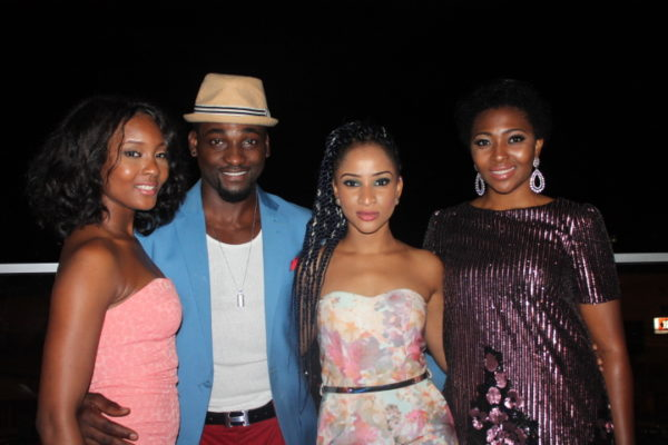 Osas Ighodaro, Gbenro Ajibade, Adesua Etomi & Lilian Esoro