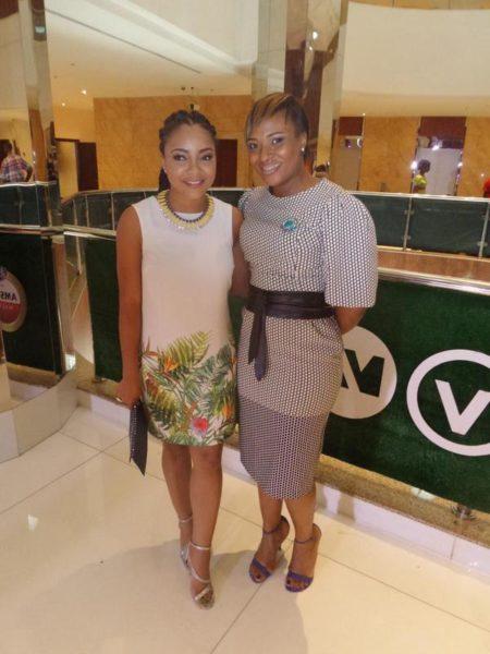 Linda Ejiofor & Chioma Afe