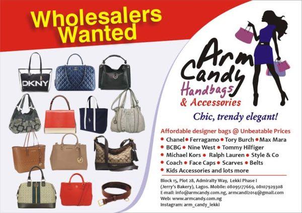 Arm Candy Handbags and Accessories Vendor Call - BellaNaija - February 2015