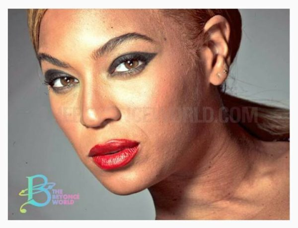 Beyonce Unretouched 2013