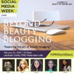 Beyond Beauty Blogging SMW2015